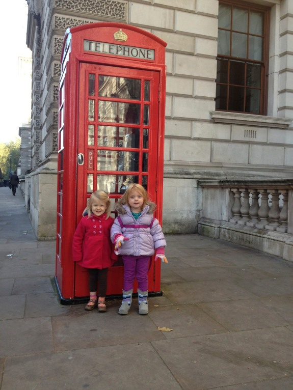 Iconic London Phone Booth