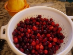 Rinsed Cranberries